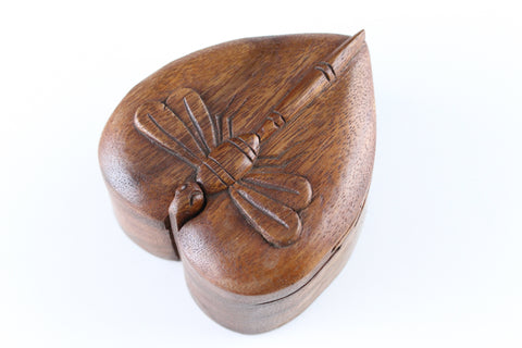 Heart Dragonfly Puzzle Box