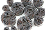 Portal Star Wooden Plugs (Pair) - PA64
