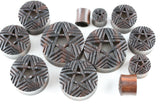 Portal Star Wooden Plugs