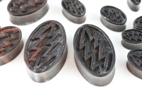 wood oval plugs
