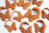 Butterfly Hanger for Stretched Ears (Pair) - A054