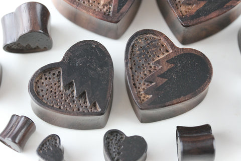 broken heart plugs
