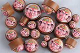 Wood Ganesha Stretch Plugs