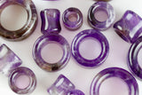 Amethyst Tunnels - (Pair) - PH22