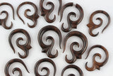 Wood Stretched Ear Hangers (Pair) - D020