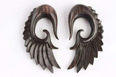 Plug Hangers - Wood Wings Plugs (Pair) - D032