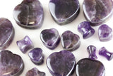 Amethyst heart plugs