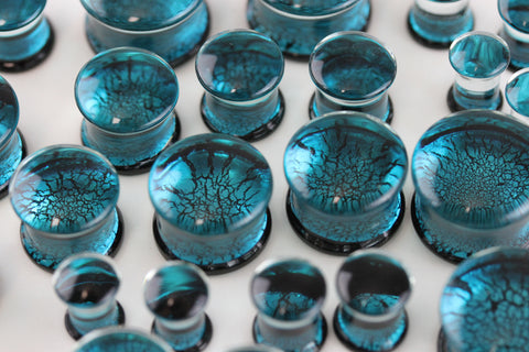 Abyss Glass Plugs for Stretched Ears (Pair) - PH32