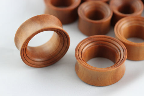 Wood Tunnel for Stretched Ears