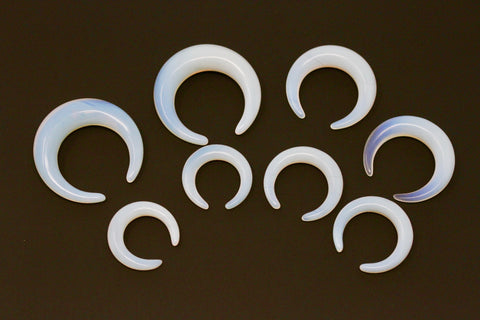 Opalite Pinchers for Stretched Ears (Pair) - H031