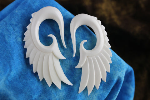 White Wings Plug Hangers