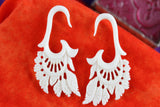 Dream Catcher Stretch Ear Gauged Hangers (Pair) - C007