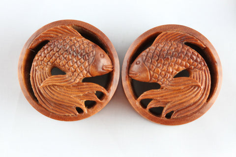Wood Fish Plugs