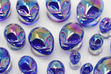 Alien Glass Plugs (Pair) - G026