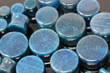 Tsunami Blue Glass Plugs (Pair) - PH74