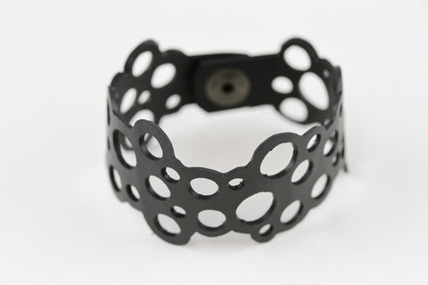 Bubble Rubber Bracelet - Reincarnated Art - RB001
