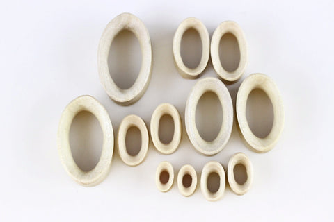 Oval Tunnel Plugs