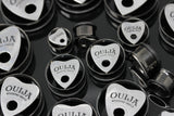 Ouija Tunnels - Stainless Steel Single Flare (Pair) - PSS34