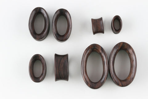 Oval Wood Tunnels
