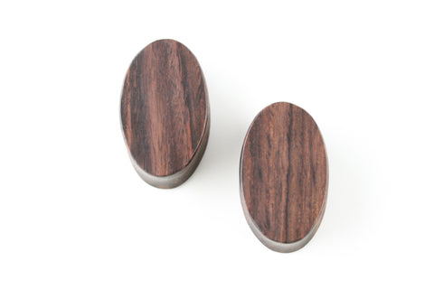 Oval Wood Plugs