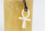 Hand Carved Ankh Necklace