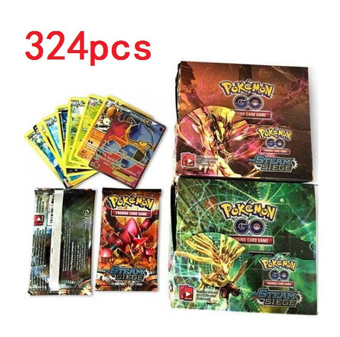 Pokemon Cards Kids Trading 324pcs