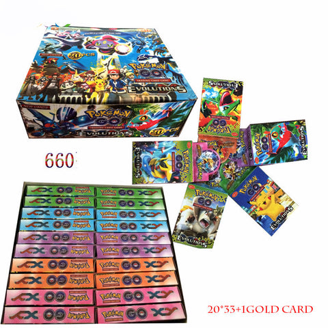 Pokemon Cards 2017 Newest XY Evolutions 660PCS/SET