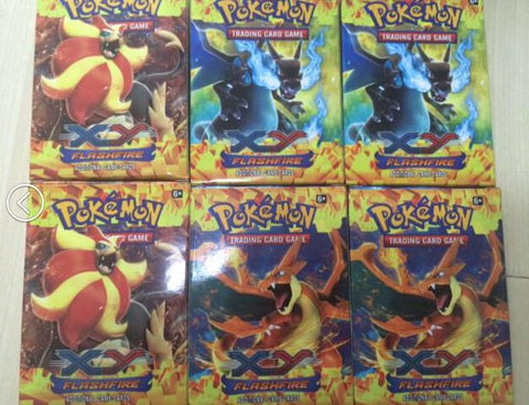 Pokemon Cards 6 packs 102 cards