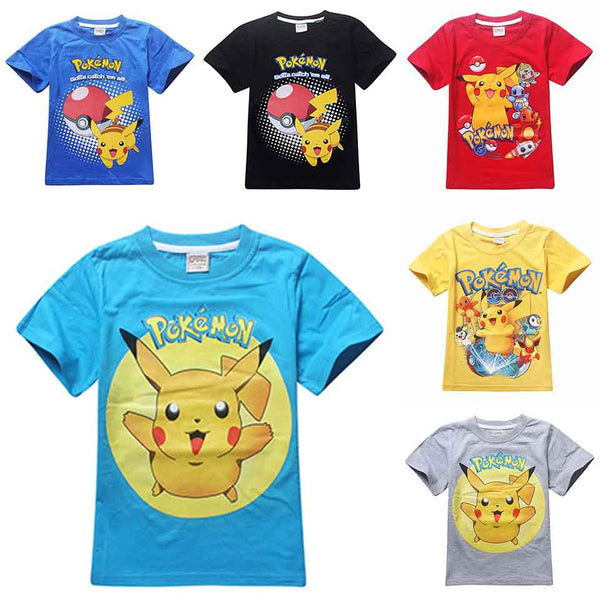 Childrens Pokemon Go Shirts