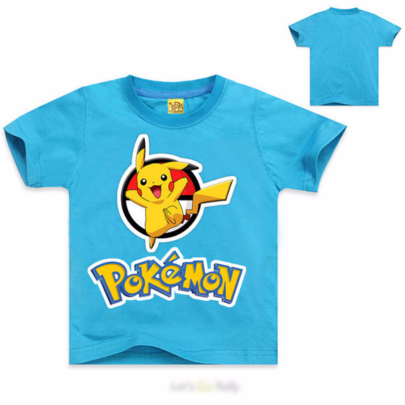 Pokemon Go kids T-Shirt short sleeve