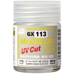 Mr Color GX 113 - Super Clear III UV Cut Flat