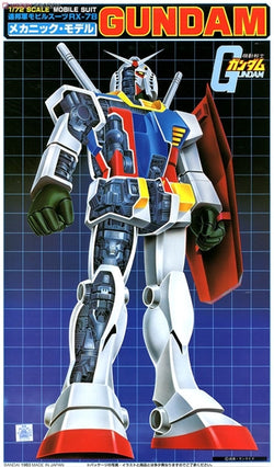 First Gundam 1/72 RX-78 Gundam [Mechanical Version]
