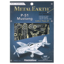 Metal Earth: P-51 Mustang
