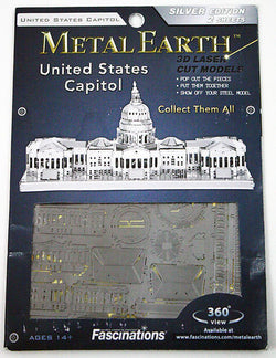 United States Capitol 3D Laser Cut Model