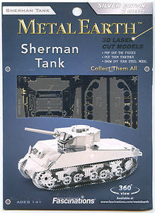 Metal Earth: Sherman Tank