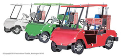 Golf Cart Set - multi-colored