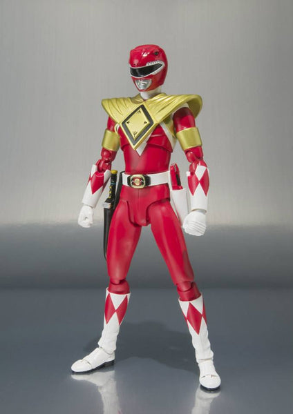 Armored Red Ranger S.H.Figuarts Might Morphin Power Rangers