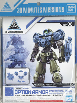 30MM Option Armor for Special Squad [Portanova Exclusive / Light Blue]