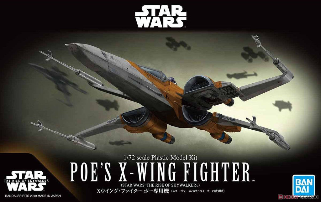 1 72 Poe S X Wing Fighter Rise Of Skywalker R4lus