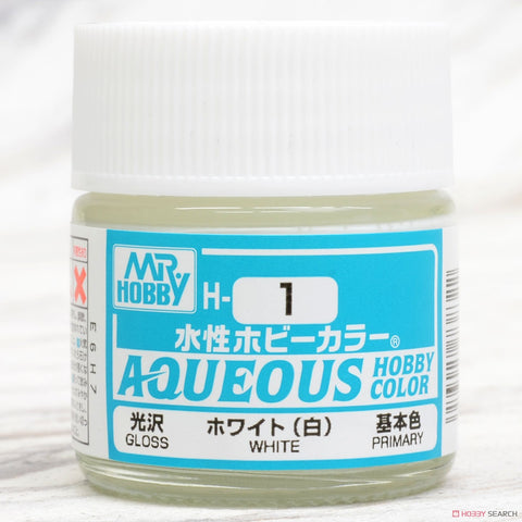 Aqueous Hobby Color - H1 Gloss White (Primary)