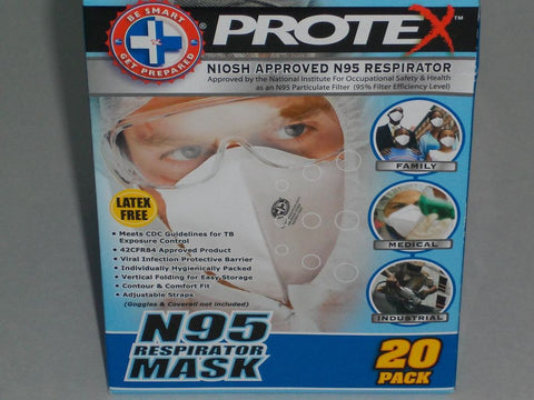 Protex N95 Respirator Mask (1 pc.)