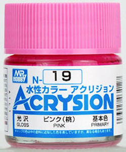 Mr. Hobby Acrysion #19 Pink