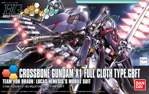 #35 Crossbone Gundam X1 Full Cloth Ver. GBF