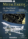 de Havilland Tiger Moth 3D Laser Cut Model