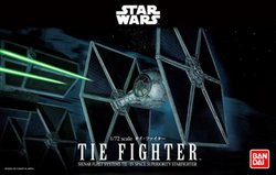 Bandai Star Wars 1/72 Scale - Tie Figther