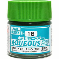 Aqueous Hobby Color - H16 Gloss Yellow Green (Primary)