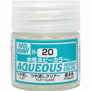 Aqueous Hobby Color - H20 Flat Clear (Primary)