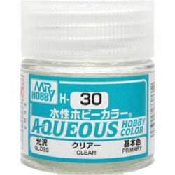 Aqueous Hobby Color - H30 Gloss Clear (Primary)