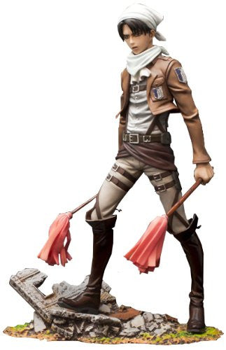 BRAVE-ACT!: Cleaning Levi (Shingeki no Kyojin) PVC Statue
