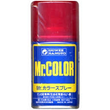 Mr. Color Spray 47 Clear Red Gloss